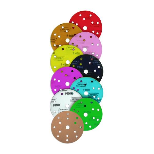 NORTON 150 mm Soft-Touch Pro A275 Exzenter-Schleifscheiben