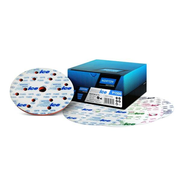 NORTON 150 mm Pure Ice Film Discs Q175 Exzenter-Schleifscheiben