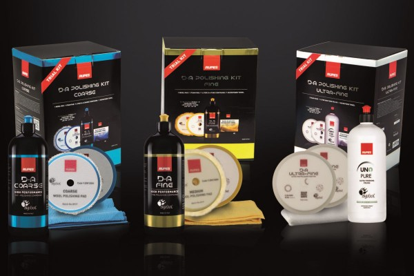 RUPES D-A Trial Kits - Spezial-Packungen - Politur-Sets