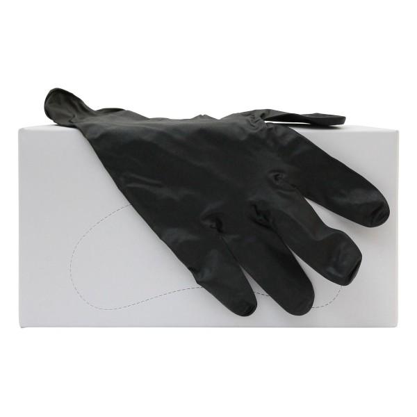 Nitril-Handschuh schwarz, latexfrei