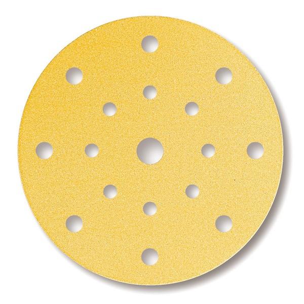 MIRKA 150 mm Schleifscheiben Gold 17-Loch Exzenter
