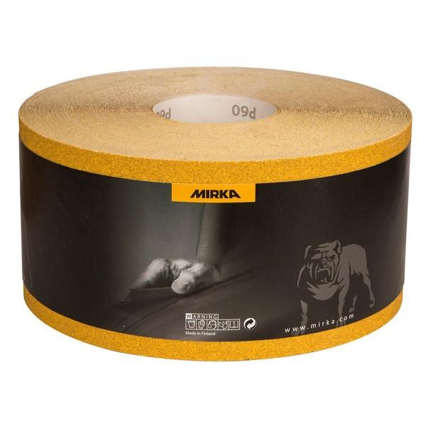 MIRKA Schleif-Rolle 115 mm x 50 m Gold
