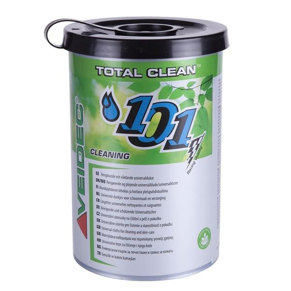 VEIDEC Total Clean - Universelle Reinigungstücher für Hände & Werkzeug 25301