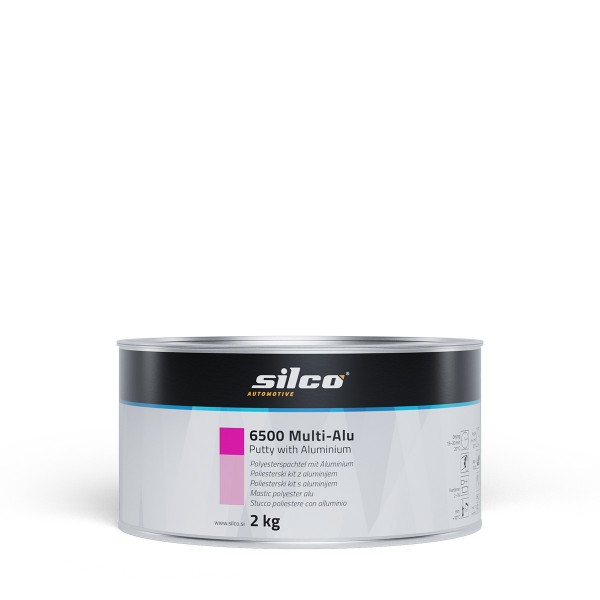 Silco Aluminium-Polyesterspachtel 6500 Multi-Alu 2kg