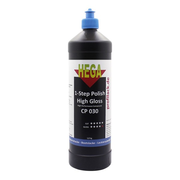HEGA Politur CP030 - 1-Step Polish High Gloss - High Performance Compound 1 kg