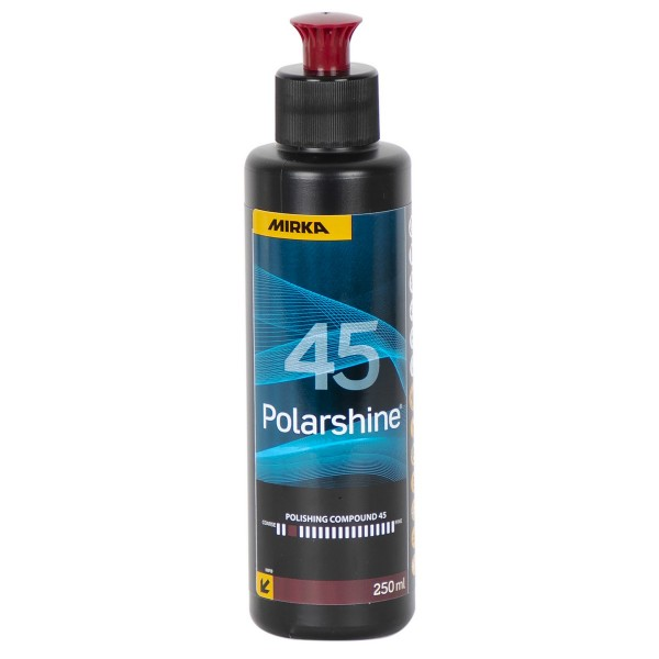 MIRKA Polarshine 45 Autopolitur 250ml Industriepolitur