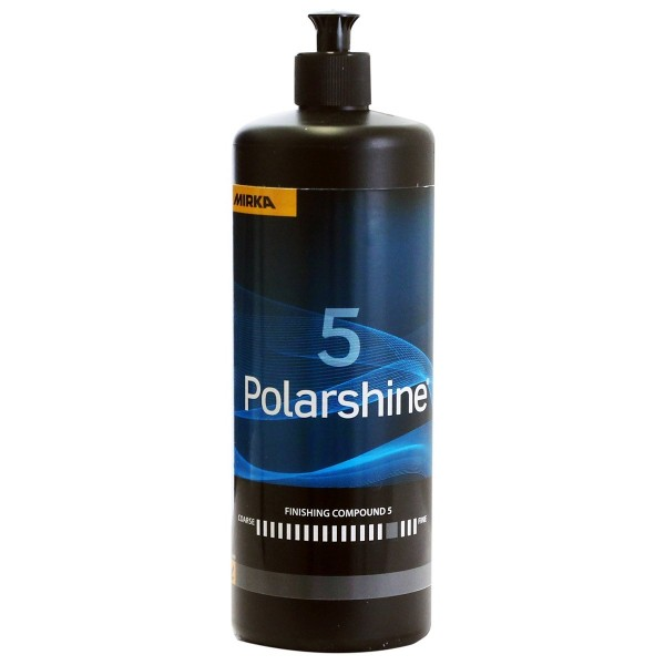 MIRKA Polarshine 5 Finish Autopolitur 250ml 1Liter Industriepolitur