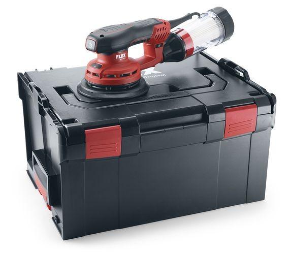 FLEX ORE 5-150 EC Set 150 mm 5 mm Hub Elektro-Exzenterschleifer Bürstenlos