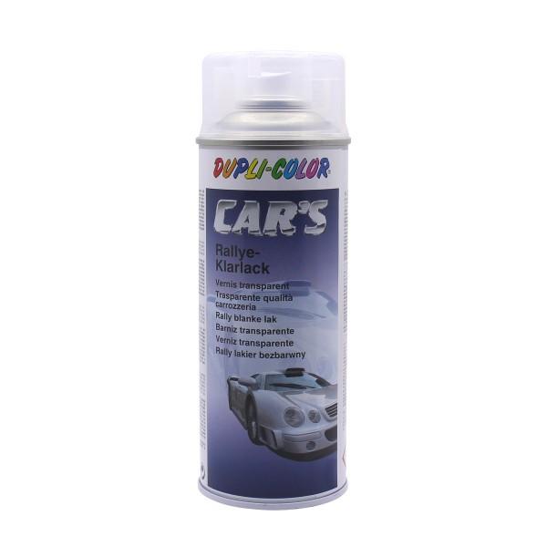 DUPLI-COLOR CARS Rallye-Klarlack Glänzend 400 ml Autolack Spraydose