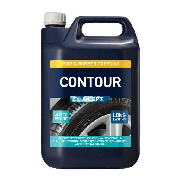 CONTOUR - Reifenpflege & Gummipflege All-in-One