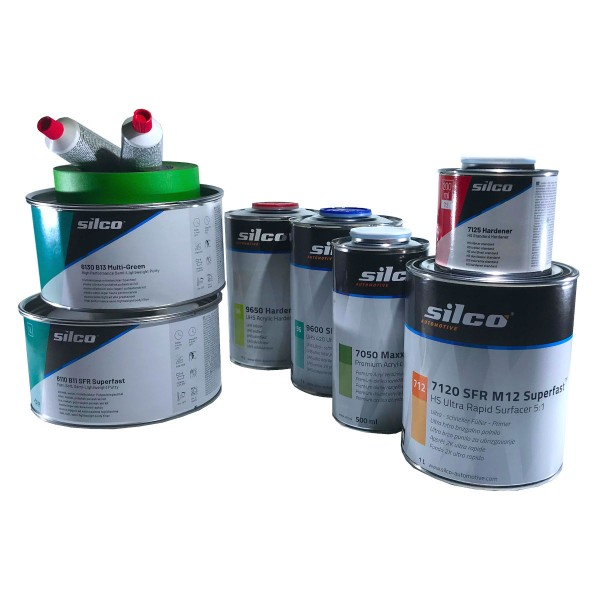 silco automotive Test-Paket SPEED-REPAIR - Schnell-Reparatur-Set