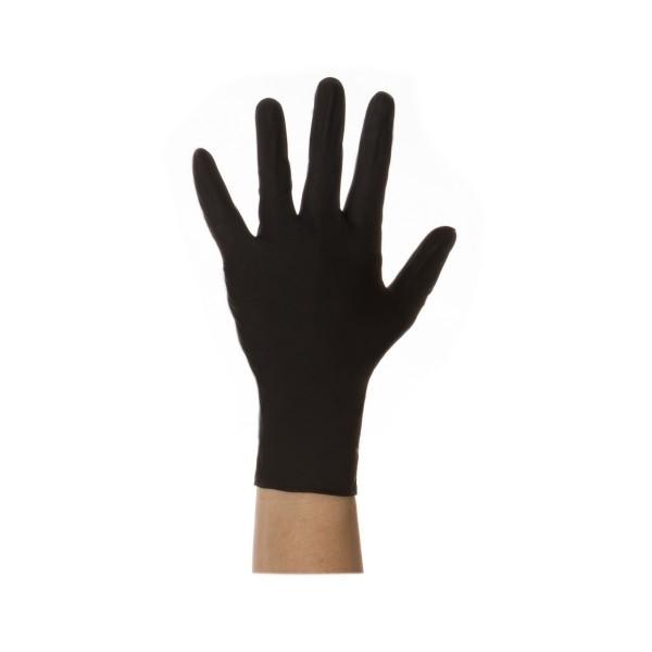 Nitril Einweghandschuhe Schwarz Größe L oder XL