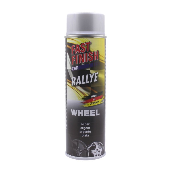 DUPLI-COLOR RALLYE Felgenlack Silber 500 ml Fast Finish Spraydose