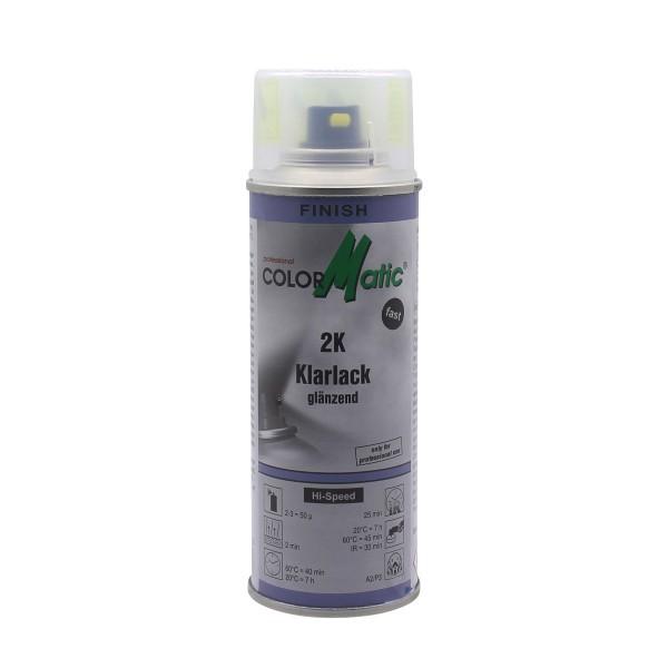ColorMatic 2K Klarlack Glänzend mit Härter 200 ml Spraydose